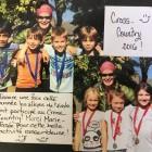 Cross-country école.  Bravo à tous les participants!